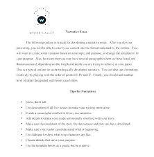 Narrative Essay Example Topics Pictx Host