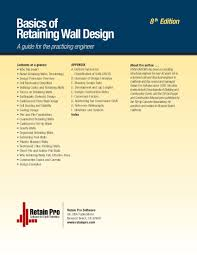 Small Picture Basics of Retaining Wall Design 8th Edition Hugh Brooks