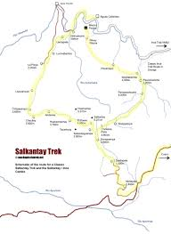 Inca Trail Elevation Chart Salkantay Trek To Machu Picchu One Of The Worlds Best Hikes