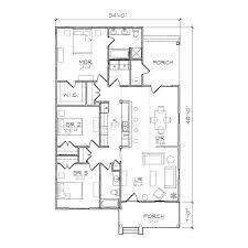 bungalow floor plans. Carolinian III Floor Plan Bungalow Plans .
