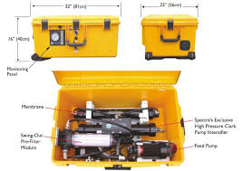 portable water filter system. Portable Solar Powered Water Purification Desalination System Filter I