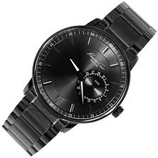 kenneth cole gunmetal stainless steel mens watch kc9030