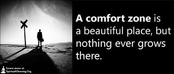 A Comfort Zone Is A Beautiful Place Quote Author Best Of A Comfort Zone Is A Beautiful Place But Nothing Ever Grows There