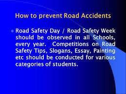 road safety action plan ppt how to prevent road accidents
