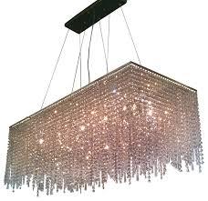 elena 8 light rectangular crystal chandelier chrome for new house regarding modern household rectangle crystal chandelier remodel