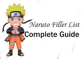 Naruto Filler List: 100% Complete Guide