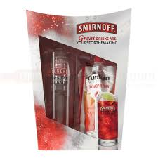 smirnoff original and gl with funkin cosmopolitan gift set 5cl