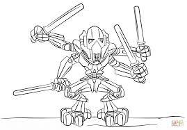 Small Picture Lego General Grievous coloring page Free Printable Coloring Pages