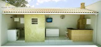 » quintal c/ 03 churrasqueiras; Area Externa Com Churrasqueira E Lavanderia Area De Lazer Com Churrasqueira Area De Churrasqueira Projeto Churrasqueira
