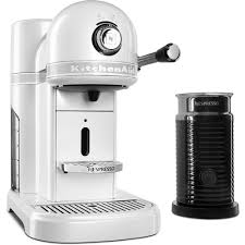Nespresso Frother Kitchenaid Nespresso 5 Cup Espresso Machine And Milk Frother