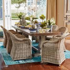 Reclaimed Teak Dining Table Early Settler Trestle Teak Dining Table 300x100 Chantilly
