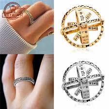 HW <b>Creative Astronomical Ball</b> Ring Rotating Cosmic Finger Ring ...