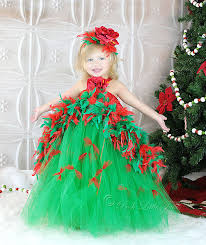 Darling Christmas Tree Boutique Feather Couture Little Girls Girls Christmas Tree Dress