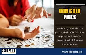 Uob Gold Price On Strikingly