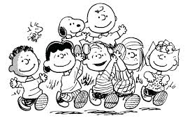 Great Pumpkin Charlie Brown Coloring Pages Snoopy Its The Char