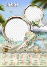 Photoshop Calendar Template 2020 Calendar Template For 2020 Psd Png For Photoshop