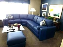 navy blue sectional sofa. Navy Blue Sectional Leather Sofa For Hall . I