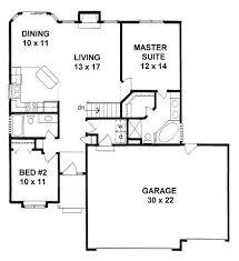 Smart Idea 2 Bedroom House Plans With Garage And Basement Best 25 Floor Plans With Garage