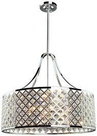 creative of drum pendant lighting artcraft ac10426 lattice chrome drum pendant lighting art ac10426