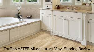 trafficmaster allure vinyl flooring overview construction styles pros cons installation maintenance s consumer reviews