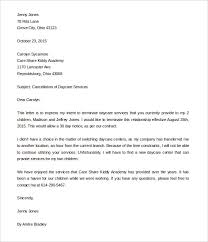 Child Care Letter Template 13 Daycare Termination Letter Free Word Pdf Documents Download