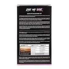 Bleach Hair Time Chart Dye My Hair Bleach Kit 30 Volume