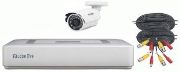 комплект видеонаблюдения falcon eye fe 2104mhd kit smart 4ch h 265 1080p 12fps dvr 4ch 1080p 15fps recording 4ch playback5mp lite 12fps 1080p 15fps