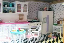 Barbie Kitchen Furniture Chrissys Creative Corner Barbieville Doll House Progress