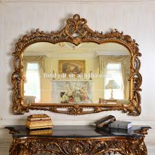 Elegant wall mirrors Traditional Style Pu247 Classic Fancy Wall Decorative Framed Mirror Elegant Wall Mirrors Alibaba Pu247 Classic Fancy Wall Decorative Framed Mirror Elegant Wall