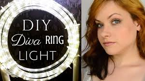 How To Easy Cheap Diva Ring Light Diy Tutorial
