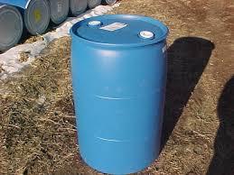 blue 55 gallon drum. Wonderful Drum 55 Gallon Barrel Drum Plastic Water Rain Blue Barrels Drums Container   EBay To H