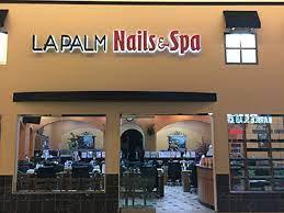 la palm nails spa nail salon in