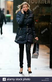wearing minimal makeup looks toned and fit after giving birth to her son joseph kushner in october as she walks to work in new york city