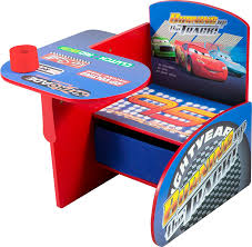 disney cars chair desk with pull out under the seat storage bin co uk toys