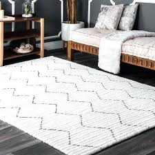 nuloom moroccan diamond rug handmade trellis striped white 4 x 6