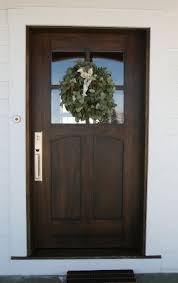 wooden front doorThe 25 best Wood front doors ideas on Pinterest  Dark front door