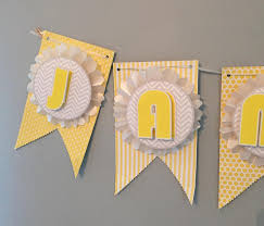 Baby Shower Banner Make This Pretty Diy Party Banner Its Much Easier Than It Looks