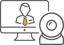 Video Conference Video Conferencing Orange Legal