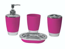 black and pink bathroom accessories. Pink And Grey Bathroom Sets Accessories Ward Log Homes . Black E
