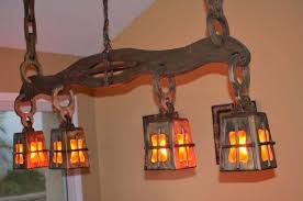 rustic wood chandelier chandeliers for new ideas handmade with hanging distressed white orb