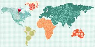 Quilts for Travelers: Map Quilts & More | Map quilt, Machine ... & Patterns · Quilt-Map Adamdwight.com