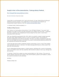 Writing A Recommendation Letter For A Student Student Recommendation Letter From Teacher Filename Business