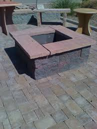 patio ideas with square fire pit. Cool Square Fire Pit Designs Ideas Pictures Decoration Inspiration Patio With D
