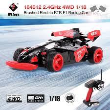 <b>WLtoys</b> 184012 4WD 1/18 45KM/H Brushed Electric RTR <b>F1</b> Racing ...