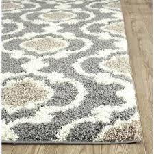 cozy trellis grey cream polypropylene area rug x 5 gray throw rugs kohls