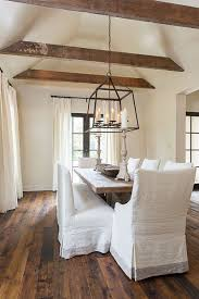 Vaulted ceiling wood beams Adding Bay Hill Design Rondayco Dining Our Home Dining Room Room Dining