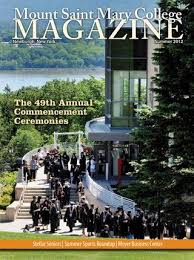 Mount Saint Mary College Magazine Summer 2012 By Mount Saint