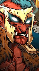 download wallpaper 640x1136 skywrath mage troll warlord dota 2