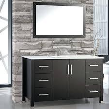 60 single sink vanity modern single sink bathroom vanity set with mirror 60 inch vanity top