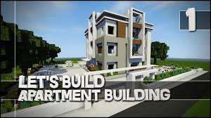 Minecraft Let S Build Modern Apartment Building Part 1 Easy